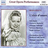 Donizetti: Elisir D'Amore (L') (Metropolitan Opera) (1949) by Various Artists