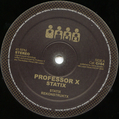 Play & Download StatiX by Professor X | Napster