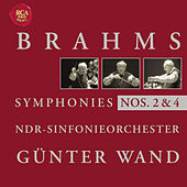 Play & Download Brahms: Symphonies 2 + 4 by Günter Wand | Napster