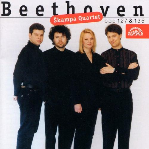 Beethoven: String Quartets, Op. 127 & 135 by Skampa Quartet
