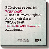 Play & Download John Cage: Cheap Imitation, Souvenir & Dream by Teodoro Anzellotti | Napster