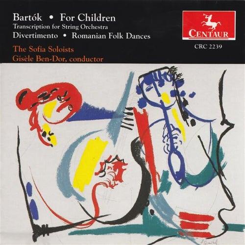 Bartok, B.: For Children / Divertimento / Romanian Folk Dances by Various Artists