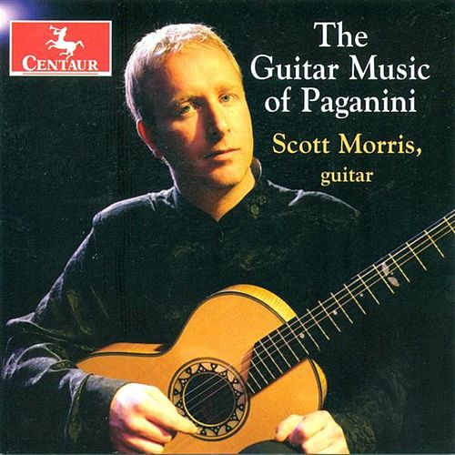 Paganini, N.: Guitar Sonatinas Nos. 1, 2, 3, 4, and 6 / Guitar Sonatas Nos. 1, 2, 8 and 10 / Grand Sonata by Scott Morris