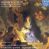 Schütz: Christmas Works by La Petite Bande