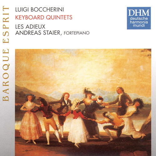 Play & Download Boccherini: Keyboard Quintets G415, G412, G418, G410 by Les Adieux | Napster