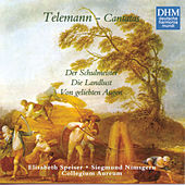 40 Years DHM - Telemann: Three Secular Cantatas by Various Artists