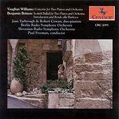 Play & Download Vaughan Williams, R.: Concerto for 2 Pianos / Britten, B.: Scottish Ballad / Introduction and Rondo Alla Burlesca by Various Artists | Napster