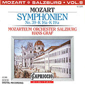 Play & Download Mozart: Symphonien No. 39, K. 16a, K. 19a by Hans Graf | Napster