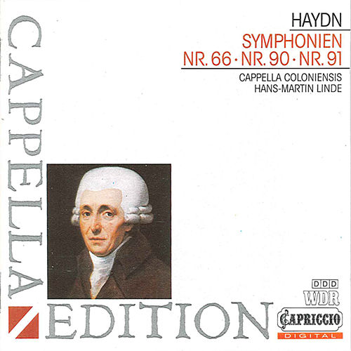 Play & Download Haydn: Symphonies Nos. 66, 90 & 91 by Hans-Martin Linde | Napster