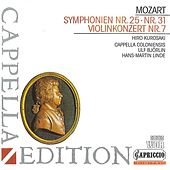 Play & Download Mozart: Symphonies Nos. 25 & 31 - Violin Concerto, K. 271i by Various Artists | Napster