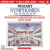 Play & Download Mozart: Symphonien Nos. 23, 24, 25, 26, 50 by Hans Graf | Napster