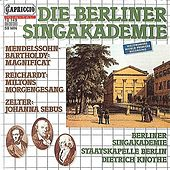 Die Berliner Singakademie by Various Artists