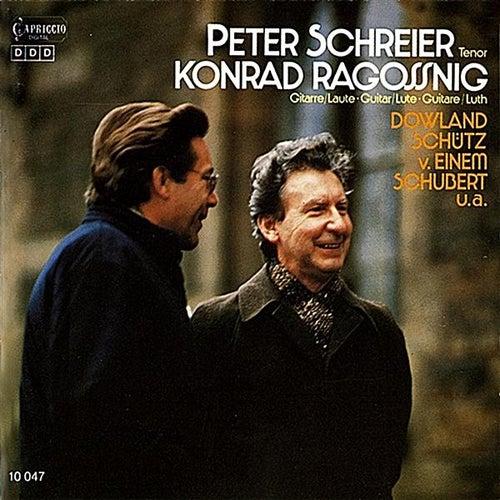 Play & Download Schreier, Peter: Bach, Dowland, Schutz, Einem & Schubert by Various Artists   Napster