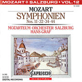 Play & Download Mozart: Symphonien Nos. 11, 32, 34, 44 by Hans Graf | Napster