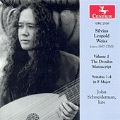 Play & Download Weiss, S.L.: Dresden Manuscript (The), Vol. 1 - Lute Sonatas Nos. 1-4 by John Schneiderman | Napster