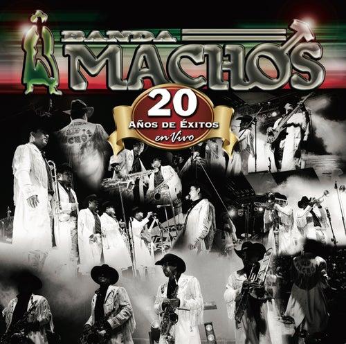 20 Años De Exitos En Vivo by Banda Machos