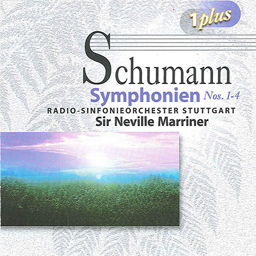 Schumann: Symphonies Nos. 1-4 by Neville Marriner