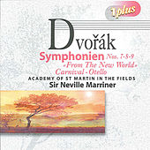 Dvorak: Symphonies Nos. 7, 8 & 9 by Neville Marriner