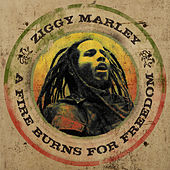 A Fire Burns For Freedom - Single by Ziggy Marley
