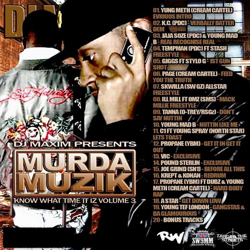 Murda Muzik by Various Artists