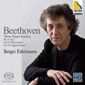 Play & Download Beethoven: Piano Sonatas No.4, No.14 & No.23 by Sergei Edelmann | Napster