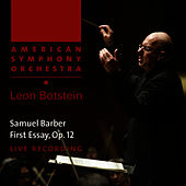 Play & Download Barber: First Essay by American Symphony Orchestra | Napster