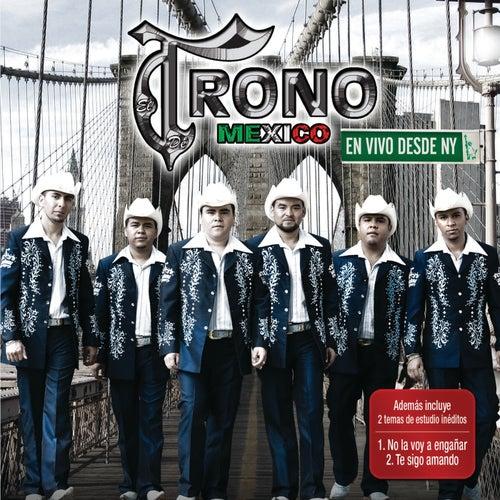 En Vivo Desde Nueva York by El Trono de Mexico