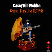 Play & Download Greatest Blues Licks 1927-1938 by Casey Bill Weldon | Napster