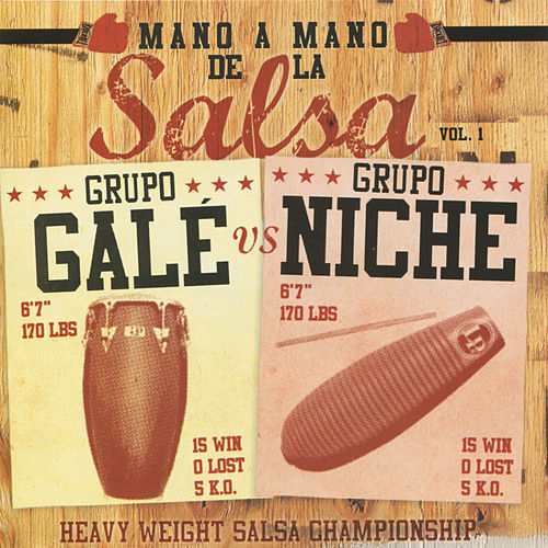 Play & Download Mano A Mano de la Salsa, Vol. 1 by Various Artists | Napster