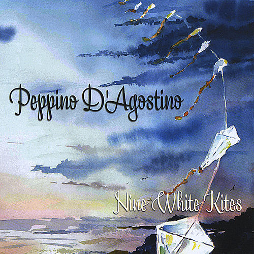 Nine White Kites by Peppino D'Agostino