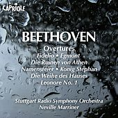Play & Download Beethoven, L. Van: Overtures by Neville Marriner | Napster