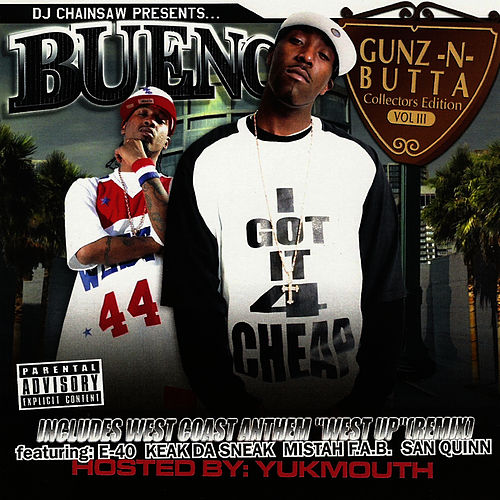 Play & Download Gunz-N-Butta  Vol. 3 by Bueno | Napster