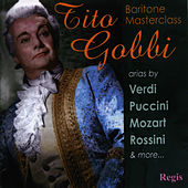 Play & Download Baritone Masterclass by Tito Gobbi | Napster