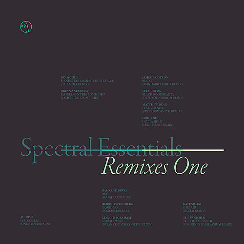 Play & Download Spectral Essentials: Remixes One by Various Artists | Napster