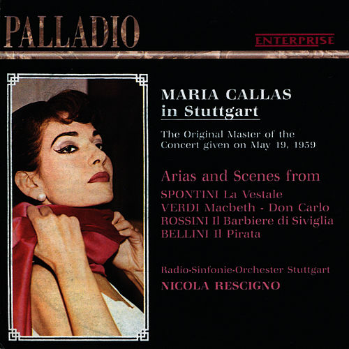 Maria Callas in Stuttgart - May 19, 1959 by Maria Callas