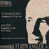 Play & Download Tchaikovsky: Symphony No. 5 in E Minor - Haydn: Symphony No. 88 in G Major by Orchestra Sinfonica Di Torino Della Rai | Napster
