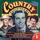 Country Radio Shows, Vol. 1 by Various Artists