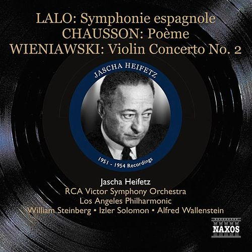 Lalo: Symphonie espagnole - Chausson: Poeme (1951-1954) by Various Artists