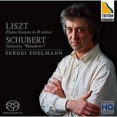 Play & Download Liszt: Piano Sonata in B Minor - Shubert: Fantasia ''Wanderer'' by Sergei Edelmann | Napster