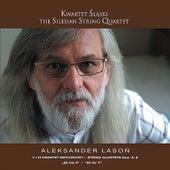 Play & Download Aleksander Lason: String Quartet No. 5 - Seven and a half quartet, String Quartet No. 6, 20 for 4 by The Silesian String Quartet | Napster