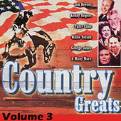 Play & Download Country Greats Volume 3 by Various Artists | Napster