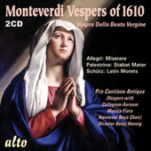 MONTEVERDI: Vespers of 1610 (+ 6 extra works) von Various Artists