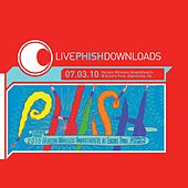 Live Phish: 7/3/10 Verizon Wireless At Encore Park, Alpharetta, GA by Phish