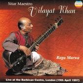 Raga Marwa (Live At the Barbican Centre, London 1997) by Vilayat Khan