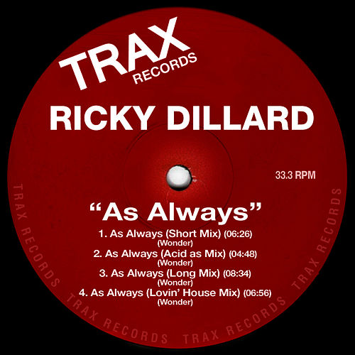 Play & Download As Always by Ricky Dillard | Napster