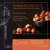 Play & Download Mozart: Sinfonie KV. 550, 551 - transcribed for piano, cello, viola and flute by Various Artists | Napster