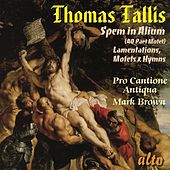 Tallis: Spem in Alium (40 Part Motet), Lamentations, Motets & Hymns by Pro Cantione Antiqua