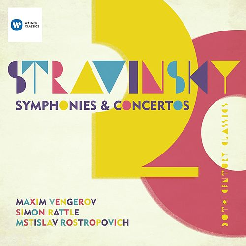 Play & Download Stravinsky: Symphony in Three Movements; Violin Concerto; Symphonies of Wind Instruments; Capriccio for piano & orchestra; Pulcinella etc by Various Artists | Napster
