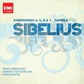 Sibelius: Symphony Nos. 4, 5, 6 &7; Tapiola by Various Artists