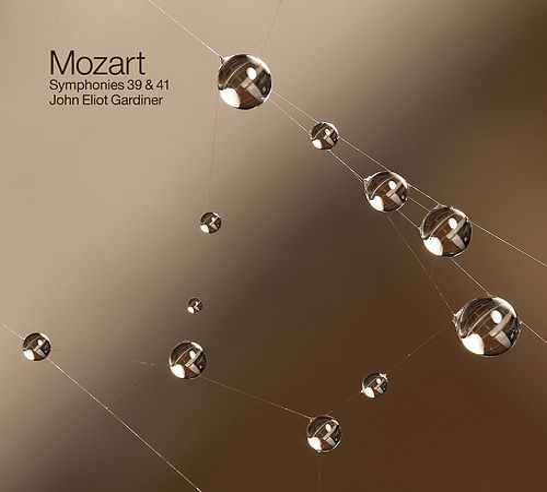 Mozart: Symphonies 39 & 41 by John Eliot Gardiner